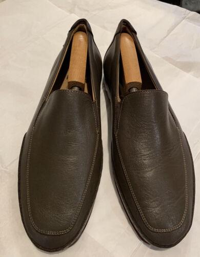 Mephisto Edlef Brown Leather Moccasin Loafer Men's