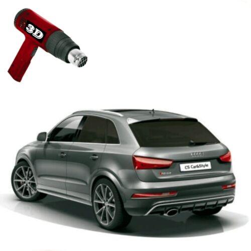 1x Heckfolie 3D-vorgewölbt Tönungsfolie tiefschwarz 5/% Dacia Duster I Bj 10-17