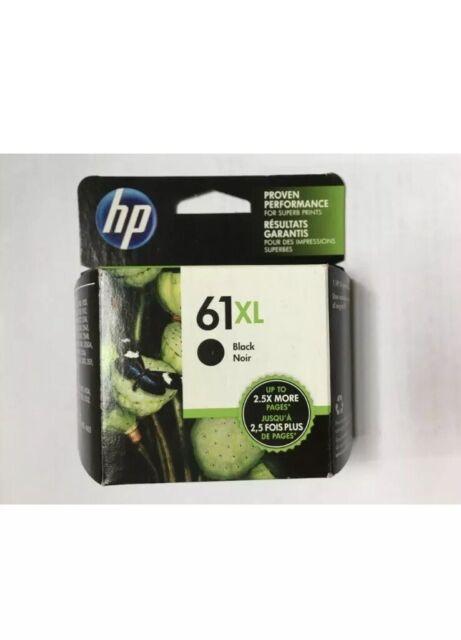 Brand New HP 61XL High-Yield Ink Cartridge Black in Retail Box Exp. 06/2021