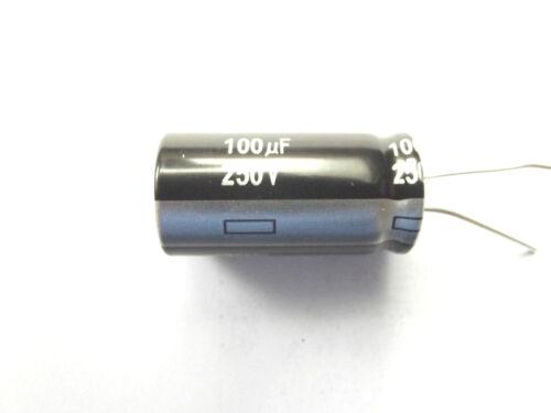 100UF 250 V 105 C faible ESR Taille 31.5x16mm Panasonic EEUEE 2E101 haute Ripple x4pcs