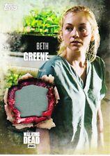 The Walking Dead Season 5 Costume Relic Card Beth Greene