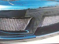 6x 48 Car Truck Universal Spoiler Grill Grille Scoop Mesh Section Black