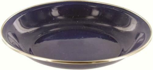 Highlander Enamel Deep Plate Navy