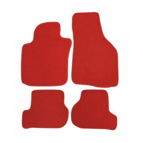 ab Bj 7//11 Rau Fussmatten Rosso rot Lancia Ypsilon 5trg