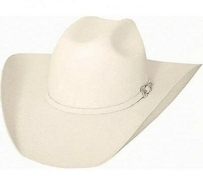 Bullhide 8X Fur Blend  Cowboy Hat - THE LEGACY - WHITE