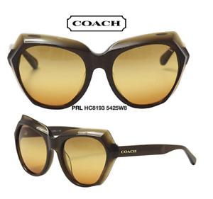 a95adb5fc669 Coach HC8193 5425W8 Sunglasses Women s Brown Glitter Brown 100 ...