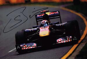 Sebastien-Buemi-SIGNED-Autograph-Toro-Rosso-12x8-Photo-AFTAL-COA-F1-Grand-Prix