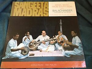 Raro-Mono-Veena-INDIAN-LP-sangeeta-MADRAS-balachander-World-Pacific-929