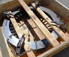 Mathey Dearman Pipe Range Steel Pipe Rim Clamp D711 2632 711 Series 26 32
