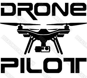 3dr Solo Drone Decal Sticker Quot Drone Pilot Quot Uav Car