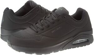 Skechers UNO Stand ON Air, Sneakers Uomo Black 52458/BBK