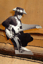 "Stevie Ray Vaughn Tabletop Standee 9 1/2"" Tall"