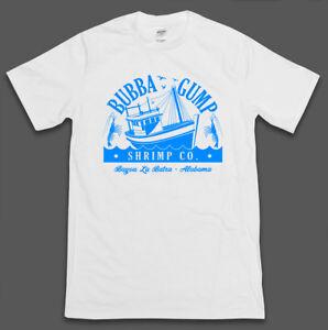 Forest-Gump-Inspired-Bubba-Gump-Shrimp-Mens-T-Shirt-Top-Retro-90s-Film-New