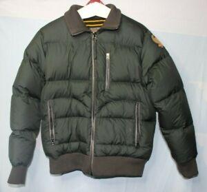 Ralph Lauren Polo Jeans Men's Dark Green Puffer Jacket ...
