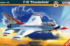 F-16 A/C THUNDERBIRDS FALCON (USAF SPECIAL MARKINGS) 1/48 MISTERCRAFT RARE