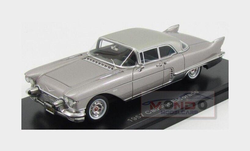 Cadillac Eldorado Brougham 1957 Grey Met NeoScale 1 43 NEO46985 Model