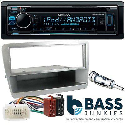 Honda Civic EP2 KENWOOD CD MP3 USB Multi Colour Display Car Stereo Kit SILVER
