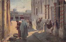 * TUNISIA - R.& J.D. - Entrée d'un palais du Bey 1906