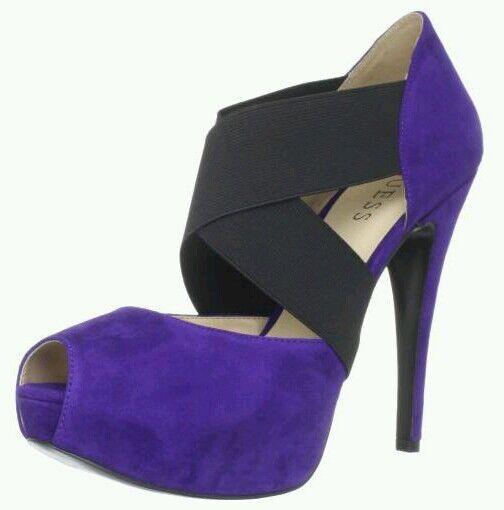 Guess Femme kampbells violet en daim taille 9.5
