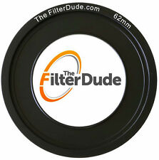 FilterDude 62mm LEE Compatible Wide Angle Adapter Ring for Filter Holder