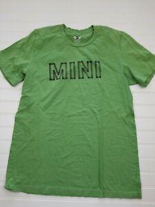 Mini-Cooper-Car-034-Mini-034-green-t-shirt-short-sleeve-green-size-medium-A9