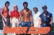 DANGER ISLAND FRIDGE MAGNET - RETRO TV CLASSIC!  from the Banana Splits show!