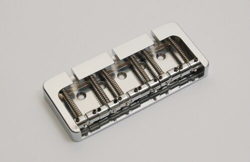 Brand new 6 string Hipshot B style aluminium chrome  bass bridge 0.708 18mm bajo