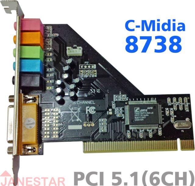 C-Media 8738 PCI Card Sound Update