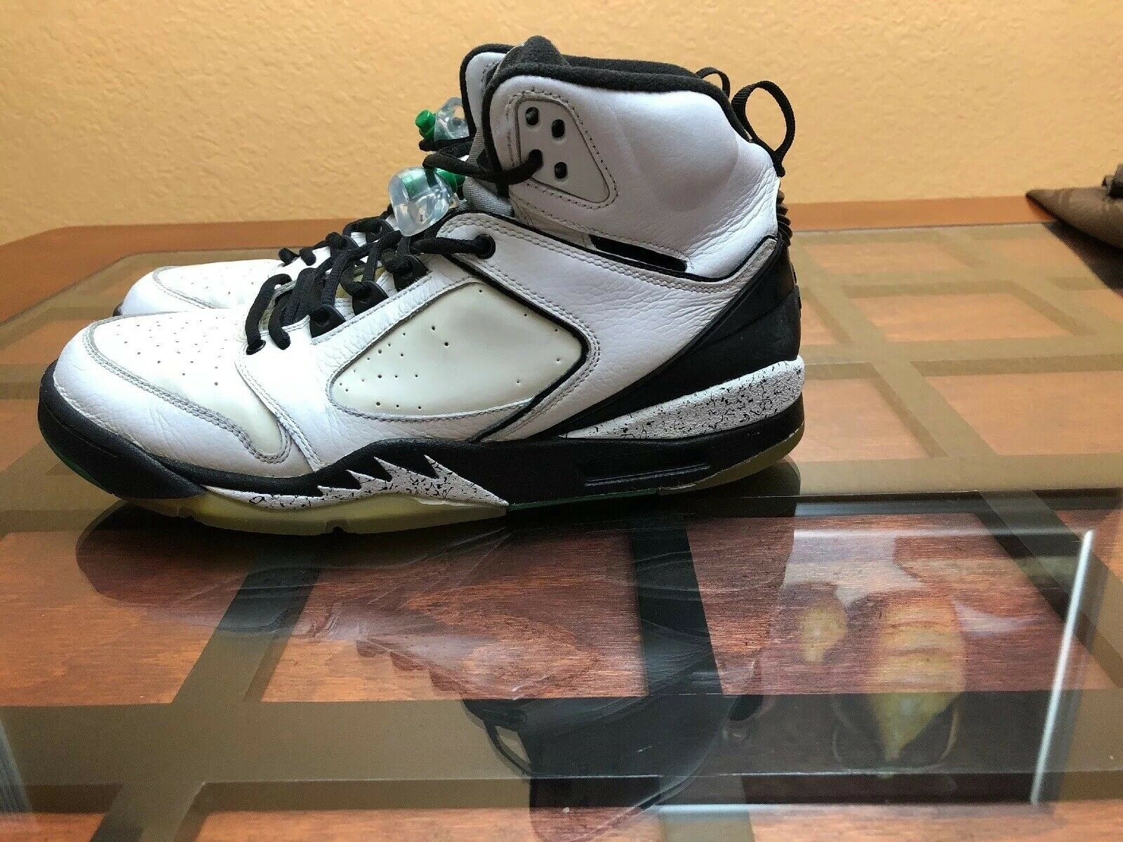 Nike Air JORDAN SIXTY PLUS V 5 RETRO WHITE GREEN BLACK Celtics 364806-131 Sz 10