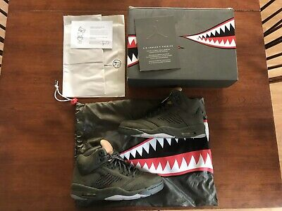 2bc98924 Nike Air Jordan 5 Retro Prem V Premium Take Flight Men Sequoia Aj5 ...