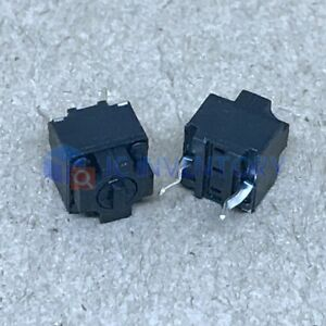 10pcs  Panasonic Square Micro Switch for Mouse Black Button NEW