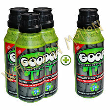 Goop Tyre Puncture Sealant Puncture Preventer / BUY 3 250ml Bottles GET 1 FREE