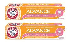 (2 Packs) ARM HAMMER Advance Help SENSITIVE CARE Deep Whitening Toothpaste