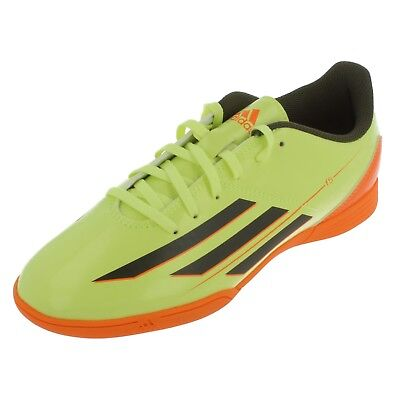 Boys F5 IN J green/orange football lace up trainers BY Adidas £ 19.99
