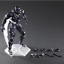 Black Panther Action Figure Kids Toys PVC 26cm Collection Superhero Doll New