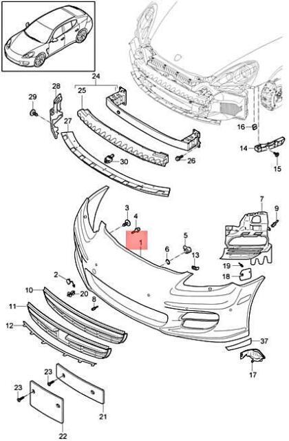 312 Motoring fits 2010-2012 Porsche Panamera Carbon Fiber ROOF Trim MOLDINGS 2PC 2011 10 11 12 Turbo S