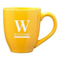 Wofford College - 16-ounce Ceramic Coffee Mug - Gold