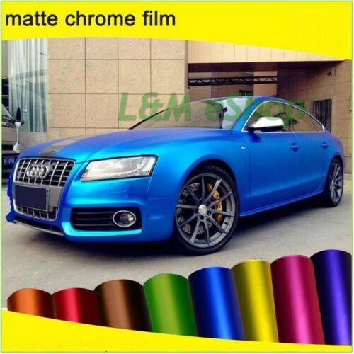 Matt Matte Satin Vinyle Wrap Chrome-Perlé-Vinyl-Wrap Voiture-Emballage