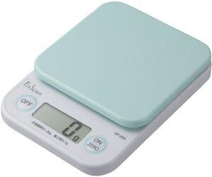 Image Is Loading Tanita Digital Cooking Scale 2kg Kf 200 Green
