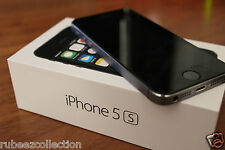 Apple iPhone 5S Black 16GB with Factory Unlocked Mint Like New in Box