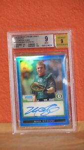 2009-Bowman-Chrome-Draft-Prospects-Blue-Max-Stassi-Card-BGS-9-Auto-9