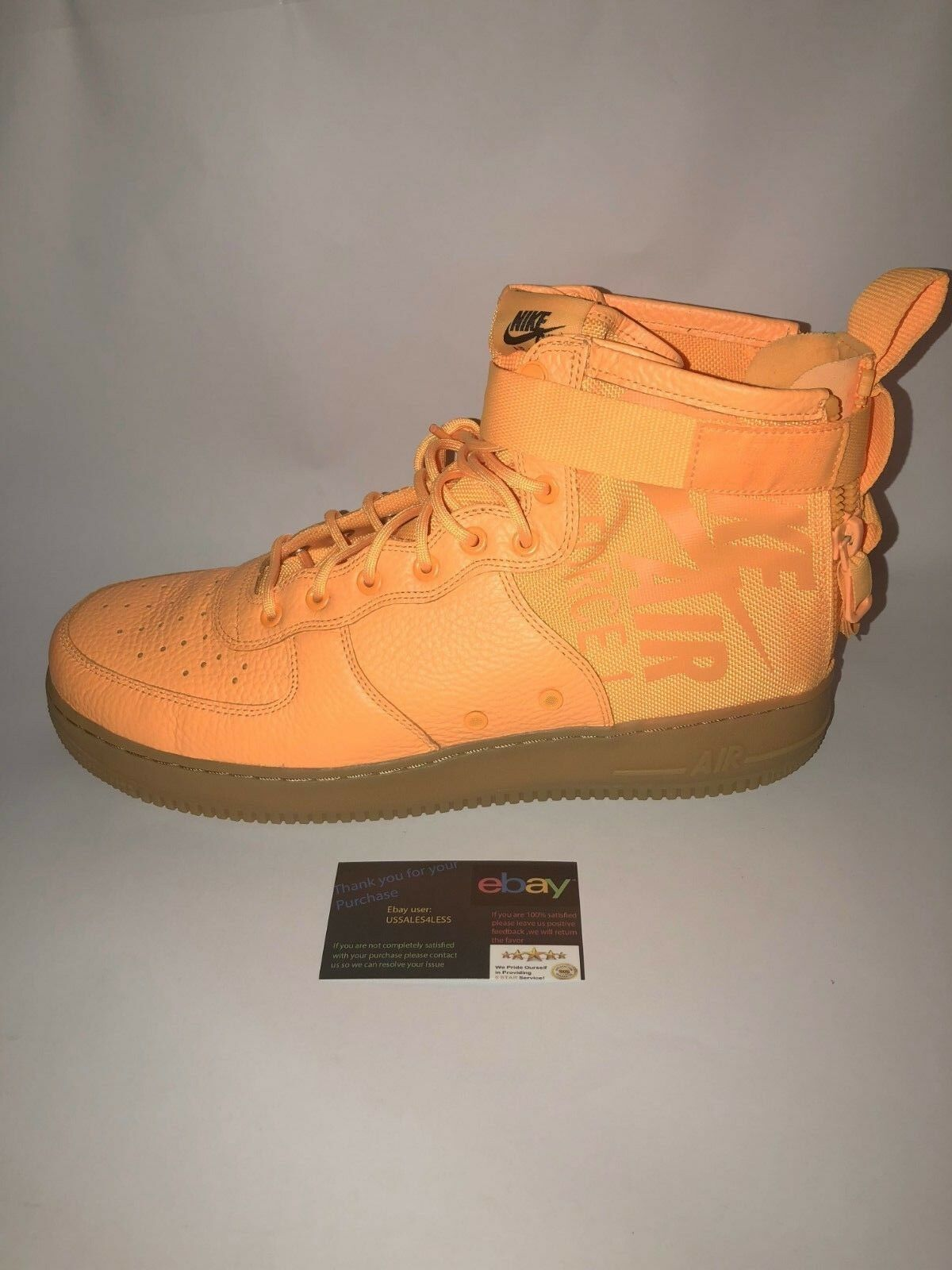 Brand discount Nike SF Air Force 1 Mid Odell Beckham AF1 NEW Laser Orange  917753-801 Comfortable