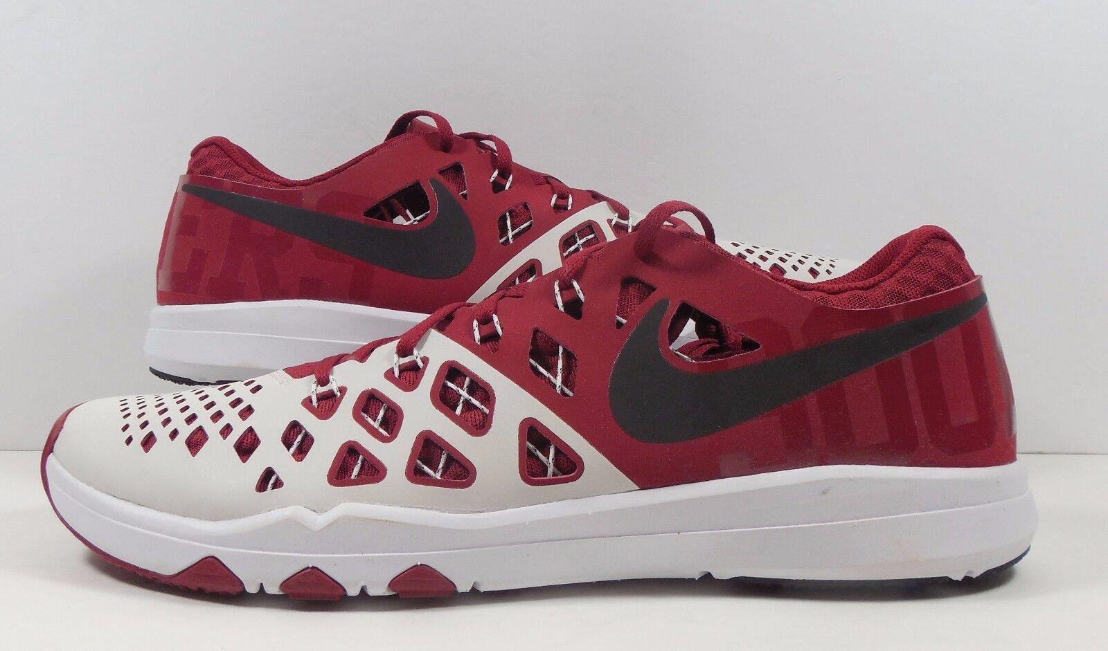 Nike Train Speed 4 AMP Oklahoma Sooners Edition Sz 13 OU