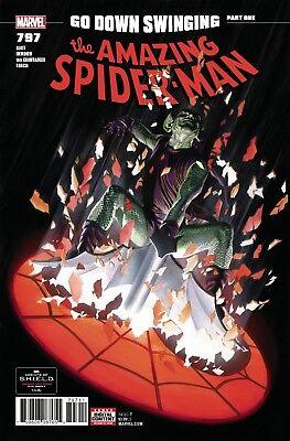 AMAZING SPIDERMAN 797 1st PRINT NM GREEN RED GOBLIN CARNAGE HARRY OSBORN