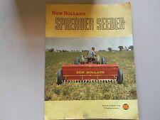 New Holland Spreader Seeder Brochure 1954