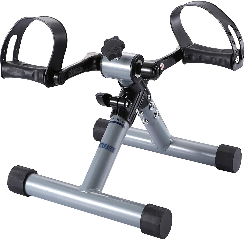 Mini Bicicleta Para Brazos y Piernas, Pedales Estaticos, Ejercicios, Pedaliera