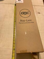 Bnb Nap Lam I Thermal Laminating Film Rolls 15mil 25x 500 635cm X1524 2pk