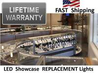 Led Custom Lighting For Storefront Window Displays & Display Cases / Showcases