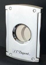 S.T. Dupont MaxiJet Cigar Cutter, Chrome Grid, 3257 (003257), New In Box