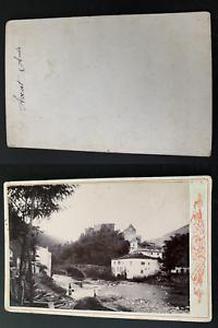 France-Pyrenees-Axat-Vintage-print-carte-cabinet-Photomecanique-10X15